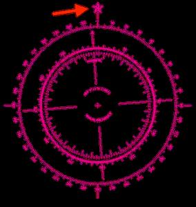 航海図のノーティカルスター
