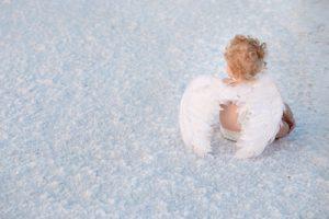 子どもの天使のイメージ