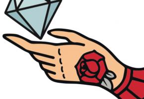 ダイヤモンドのタトゥー-