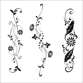 蔦のタトゥーデザイン