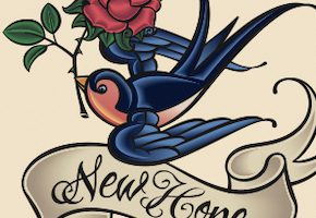 ツバメ(スワロー)のタトゥーデザイン