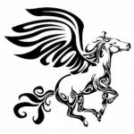 ペガサスのタトゥーデザイン(サムネ)
