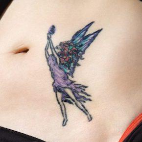 妖精のタトゥーデザイン