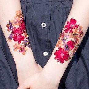 押し花タトゥー(サムネ)