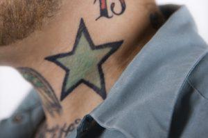 星のタトゥーデザイン