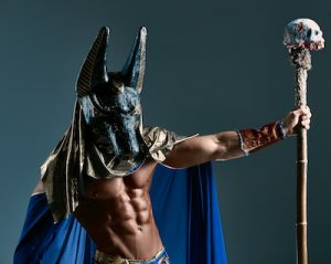 古代エジプトのアヌビス神