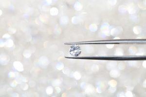 美しく輝くダイヤモンドの写真