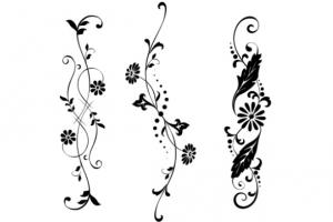 蔦(ツタ)のタトゥーデザイン