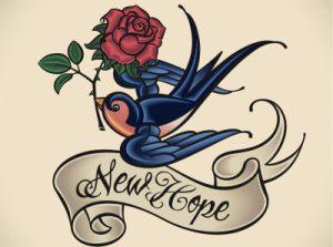 ツバメ(スワロー)のタトゥーの意味とは?※デザイン画像もあり