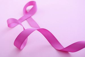 ピンク色のリボン