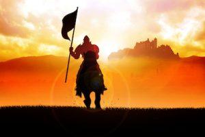 不屈の精神を持った戦士