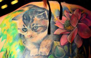 猫(ネコ)のタトゥーが持つ意味とは?※デザイン画像あり