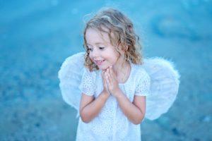 純真無垢の天使のイメージ