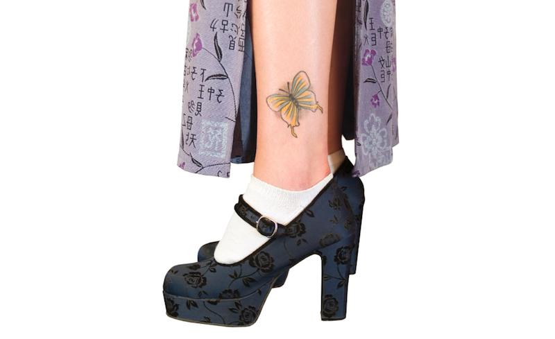 蝶(バタフライ)のタトゥーが持つ意味とは?※デザイン画像あり