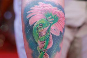 蛙(カエル)のタトゥーが持つ意味とは?※デザイン画像あり