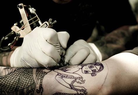 人魚のタトゥー