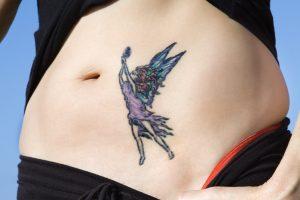 妖精(フェアリー)のタトゥーデザイン