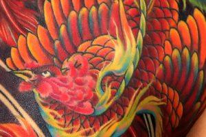 鳳凰(フェニックス)のタトゥー