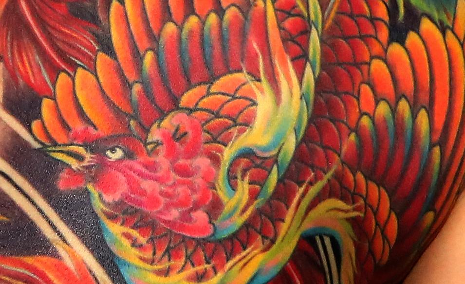 鳳凰(フェニックス)のタトゥーまとめ – 意味とデザインを徹底解説!