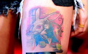 ウサギ(ラビット)のタトゥーの意味とは?※デザイン画像あり