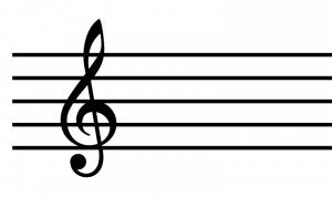 ト音記号のデザイン