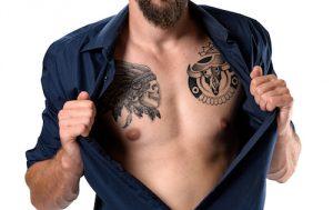 バッファローのタトゥー
