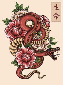 蛇(スネーク)のタトゥーの意味とは?【ウロボロスまで徹底解説!】