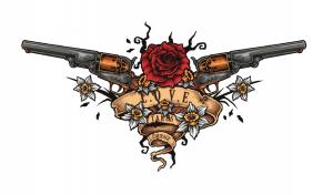 銃(ピストル)のタトゥーの意味とは?※ライフルやリボルバーのデザインもあり!
