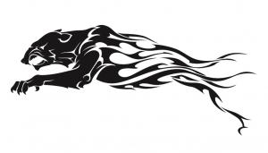 黒豹のトライバル