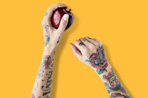 オールドスクールタトゥーとは? | デザインの特徴 & 意味を解説!