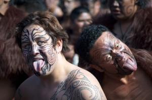 マオリ族とトライバルタトゥー