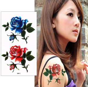 タトゥーシール(薔薇)