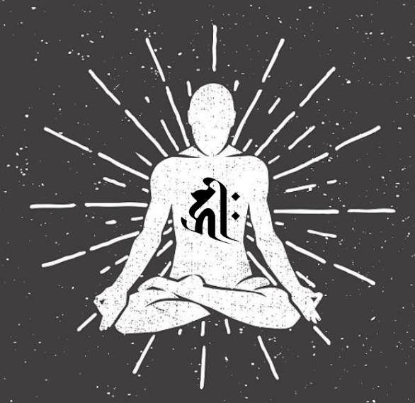 悉曇文字のイメージ
